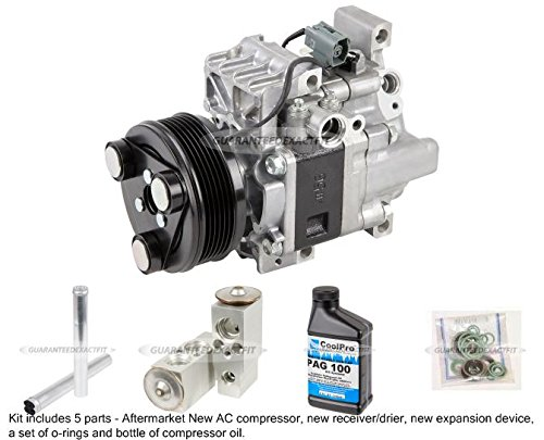 New Ac Compressor & Clutch With Complete A/C Repair Kit For Mazda Cx-7 - BuyAutoParts 60-81771RK New (Mazda Cx7 Compressor compare prices)