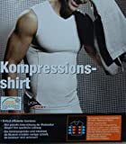 Men's Compression Gym and Exercise Athletic Tank Top T-Shirt