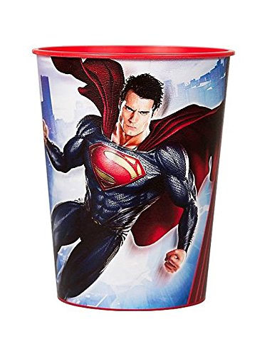 Superman Man of Steel Reusable Keepsake Cups (2ct)