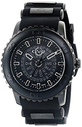 GV2 por parte de los hombres de la Aurora es 9700 Gevril de Visualización analógico de cuarzo reloj de pulsera