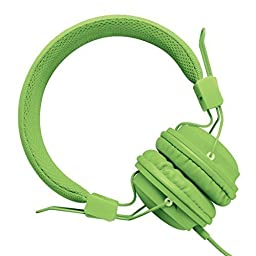 Sound Intone HD850 On-Ear Lightweight Stereo Headphones Kids or Adults Earphones With Share Function Folding Stretchable Adjustable Headband Headset with Soft Earpads Earphones Men and Women Boys and Girls Earphones Includes Microphone and Remote Control