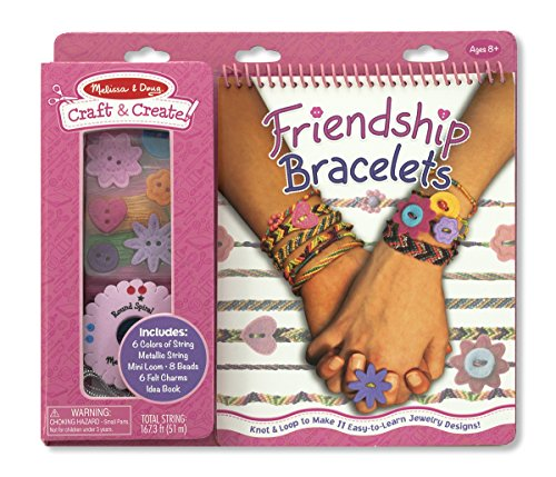 Melissa & Doug Craft and Create Friendship Bracelets - 1