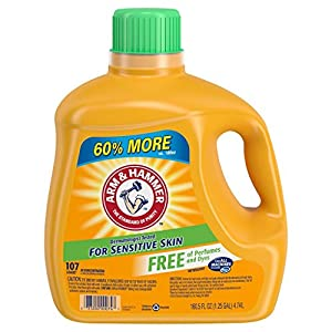 Arm & Hammer Liquid Laundry Detergent, Sensitive Skin