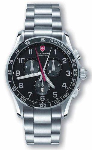 Victorinox Swiss Army Men's 241199 Classic XLS Black Dial Watch