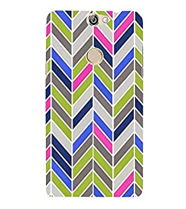 Arrow Pattern 3D Hard Polycarbonate Designer Back Case Cover for Coolpad Max A-8