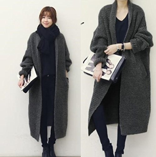 ZX Ladies XL plus fertilizzante/Cardigan/maglione/cappotto e lungo cappotto