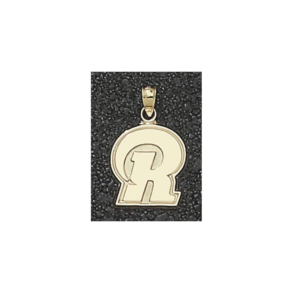 LogoArt St. Louis Rams 10K Gold 5/8 inch X 5/8 inch Team