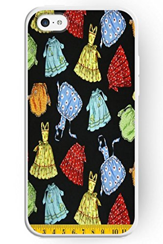 Sprawl Stylish Design Hard Cover For Apple Iphone 5C -- Teenage Girl Short Skirt And One-Piece Dress