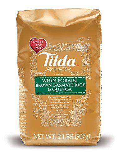 Tilda Legendary Rice Dry Basmati, Brown & Quinoa, 2 Pound (Tilda Basmati Rice Legendary Rice compare prices)