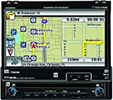Dual XDVDN8190N AM/FM/DVD Receiver with 7-Inch Motorized, Touch, Navigation,Bluetooth Interface (Black)