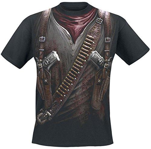 Spiral Holster Wrap T-Shirt nero M
