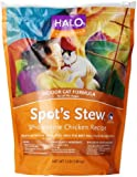 Halo Spot's Stew Natural Dry Cat Food, Indoor Cat, Wholesome Chicken Recipe, 3-Pound Bag