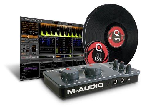 MAudio Torq Connectiv Vinyl CD Pack - 9900-51978-00 (Mixer Usb M Audio compare prices)