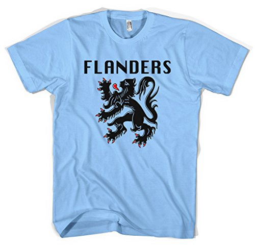 flanders-lion-unisex-t-shirt-all-sizes-colours-l-light-blue