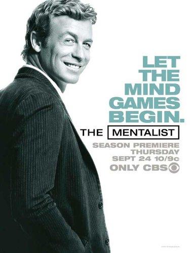 The Mentalist - 映画ポスター - 11 x 17
