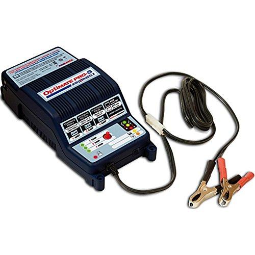 TECMATE OPTIMATE PRO S 1-2-4 A Für Standard, MF und Gel-Batterien geeignet. 1010