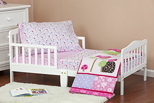 Dream On Me Spring Time 4 Piece Toddler Bedding Set - 1