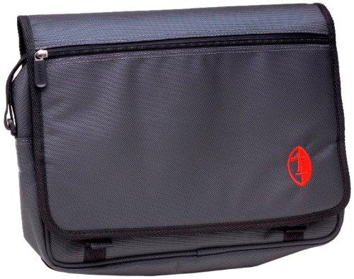 Namba Gear Kucha Kim-Gy Ipad Messenger Bag For Musicians, Charcoal Grey front-207396