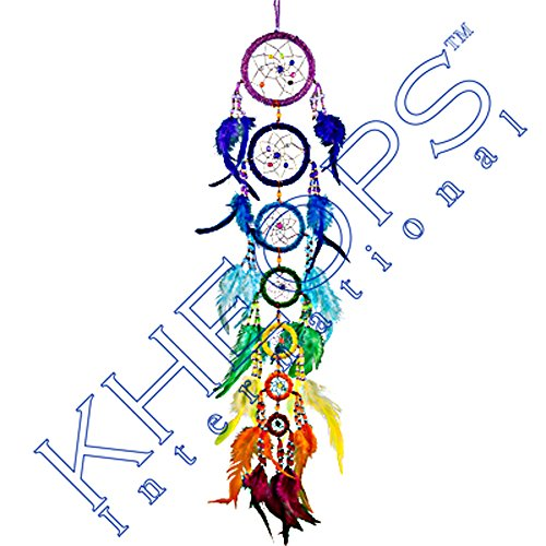 Big Save! Kheops International - Beaded Dreamcatcher 7 Chakras (30071)