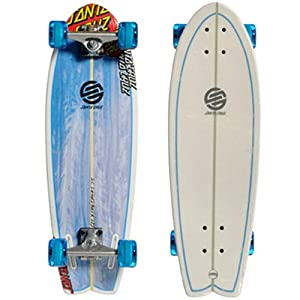 Santa Cruz Land Shark Cruiser Complete Longboard - 27.5`