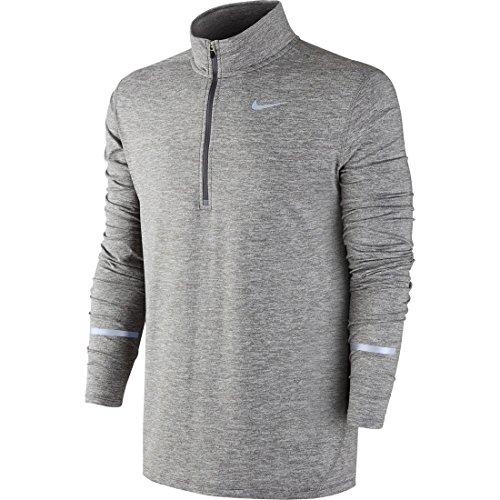 Nike 683485-021 Element Half-Zip - Grey/Silver - Medium