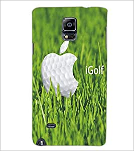 SAMSUNG GALAXY NOTE 4 GOLF Designer Back Cover Case By PRINTSWAG