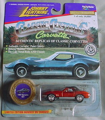 Johnny Lightning Classic Customs 1967 Corvette 427 Limited Edition