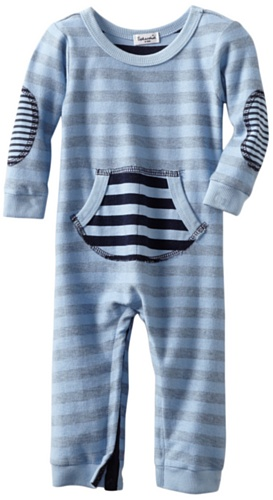 Review: Splendid Littles Baby-Boys  Navy Stripe Active Romper, Sky, 12-18 Months