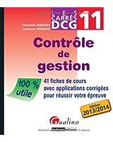 Carres DCG 11 - contrôle de gestion