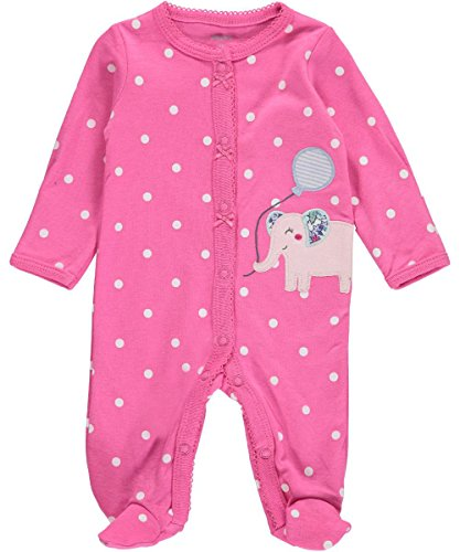 carters-baby-girls-elephant-party-footed-coverall-pink-newborn