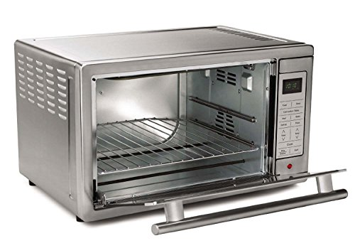 Oster Large Countertop Convection Oven Black : Oster Large Capacity Countertop 6-Slice Digital Convection Toaster ...