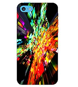 APPLE IPHONE 5C ILLUSSION Back Cover by PRINTSWAG