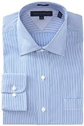Tommy Hilfiger Men's Slim Fit-Micro-Stripe Shirt