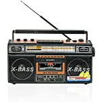 Quantum FX Cassette Recorder With USB SD MP3 Player AM FM Radio - Quantum FX J21U