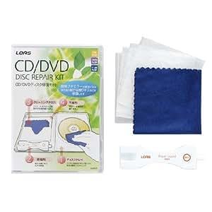ロアス CD/DVD ディスクキズ修復キット CN-607