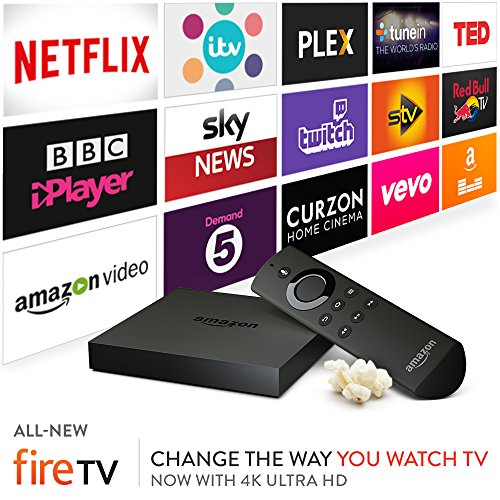 All-New Amazon Fire TV with 4K Ultra HD