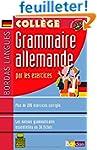 Bordas langues : Grammaire allemande...