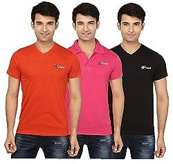 Strak Cotton Men's Casual T-Shirt (STR2011_M)