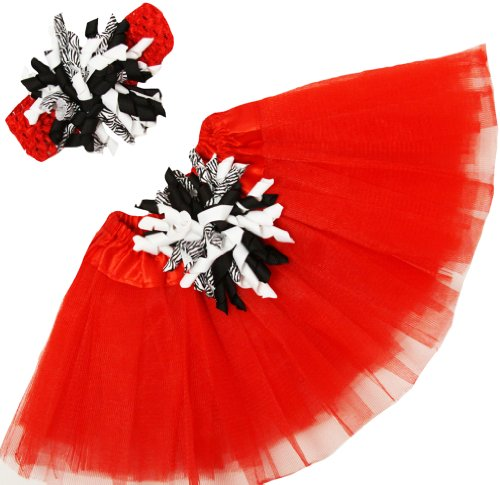 Red Baby Tutu front-129105