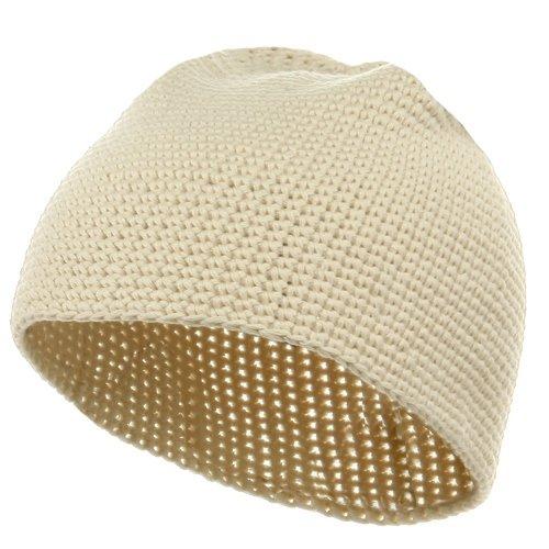 Ruffle Brimmed Granny Style Skull Cap - Crochet Me