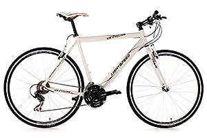 KS Cycling Fahrrad Fitnessbike Alu Lightspeed RH 56 cm, Weiß, 28, 276B