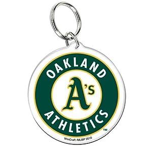 Oakland Athletics - Glove Logo Acrylic Keychain