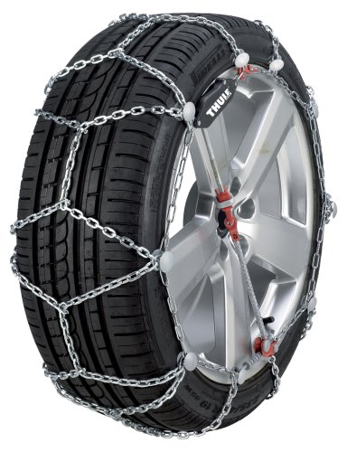 Thule 12mm XG12 Premium SUV/Crossover Snow Chain, Size 250 (Sold in pairs) (Thule Snow Chains Xg12 compare prices)
