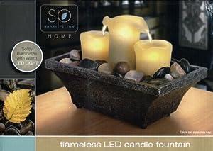 Sarah Peyton Home, Flameless LED Candle Fountain