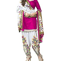 Shree Hari Creation Women's Poly Cotton Unstitched Dress Material (3615_Multi-Coloured_Free Size)