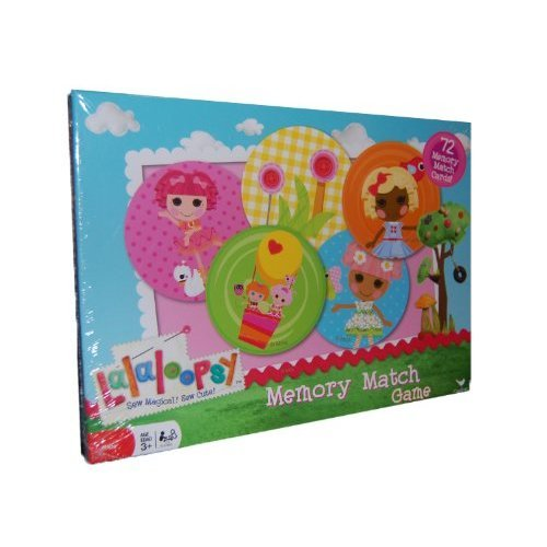 Lalaloopsy Memory Match Game (72 Memory Match Cards)