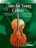 Solos for Young Cellists Cello Part and Piano Acc. (Volume 3)