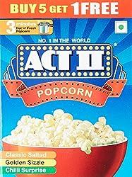 ACT II Instant Popcorn, 270g (Buy 5 Get 1 Free)