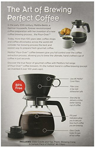 Melitta-Coffee-Maker-Single-Cup-Pour-Over-Brewer-with-Travel-Mug-Pack-of-2