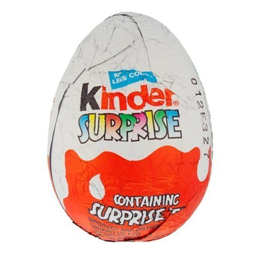 Kinder Surprise Chocolate Egg, 20g - Pack of 36